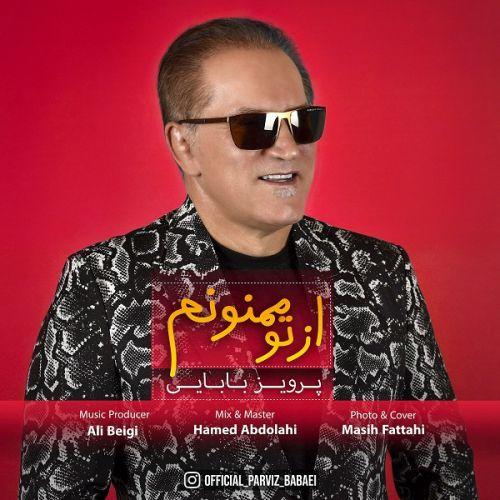 دانلود موزیک جدید پرویز بابایی از تو ممنونم