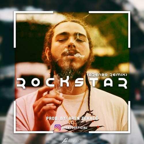 دانلود موزیک جدید پست مالون راکستار ( ارنزو ریمیکس)